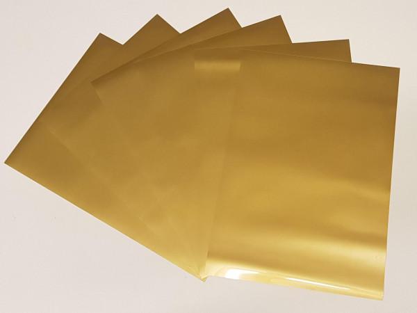 Textilfolie Gold matt